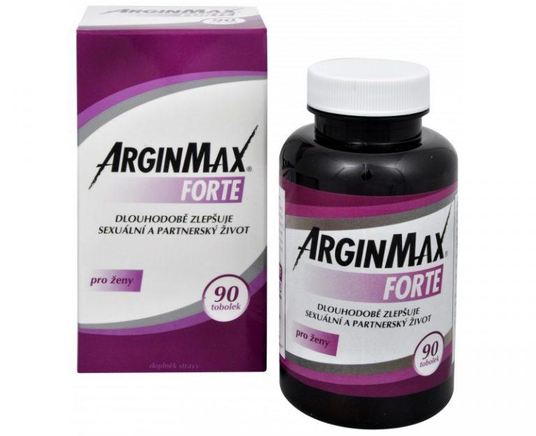 ArginMax Forte pro zeny recenze + cena, slozeni, ucinky