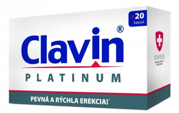 Clavin Platinum cena, ucinky, davkovani + zkusenosti