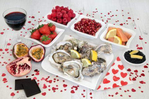 Afrodisiaka - jídlo a potraviny