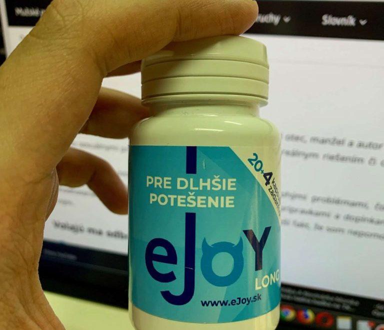 eJoy Long: recenze + cena, složení, účinky a zkušenosti
