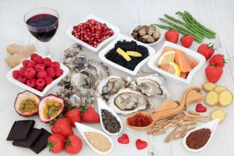 Potraviny na zvýšení libida