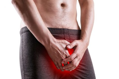 Bolestivá erekce, bolest při erekci